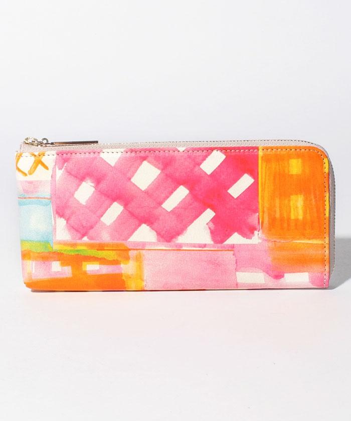 blur Lファスナー長財布