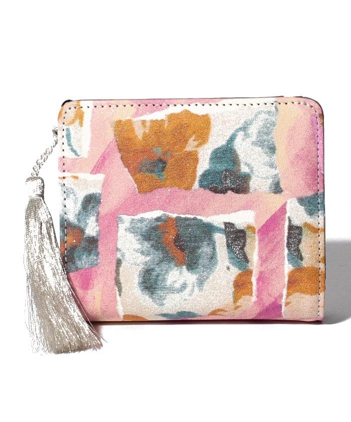 fragrant 二つ折りファスナー財布
