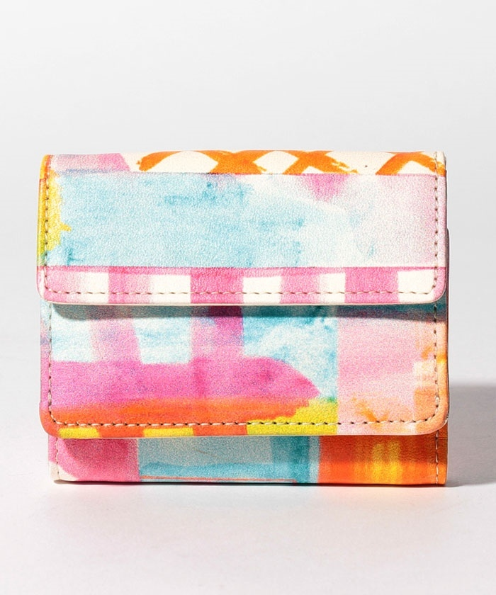 blur 三つ折り財布