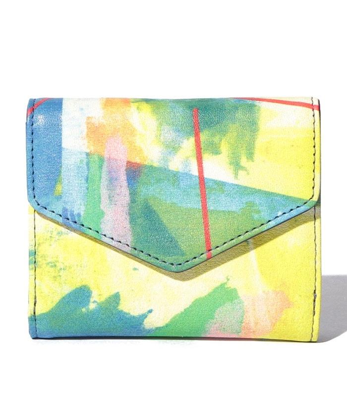 abstract 三つ折り財布