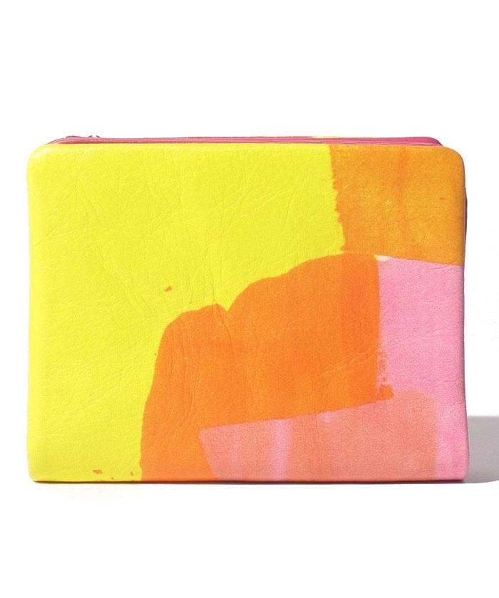 Juice 二つ折りLファスナー財布