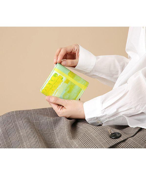 Green!Green! 二つ折りミニ財布