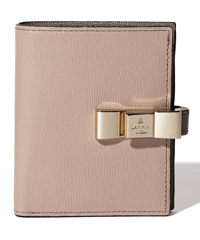 ルビ コンパクト二つ折り財布