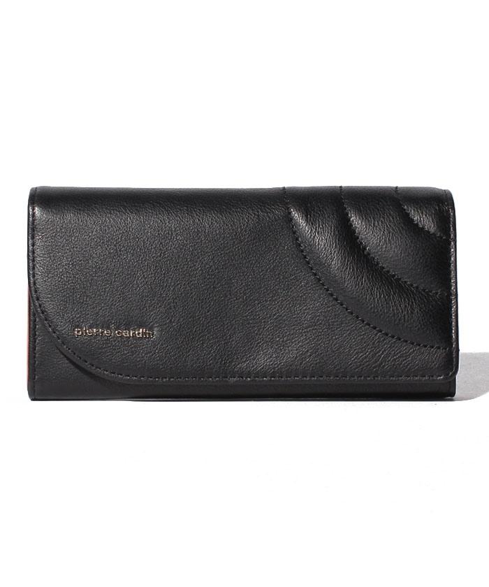 シーブル フラップ長財布