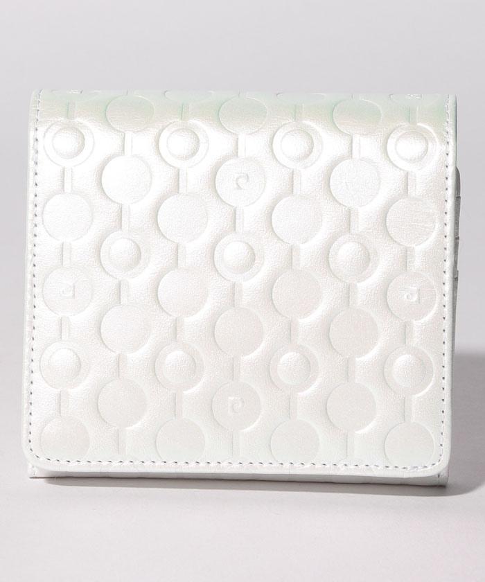 リヤン ボックス二つ折り財布