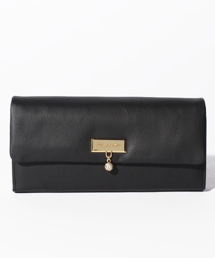 リデル フラップ長財布