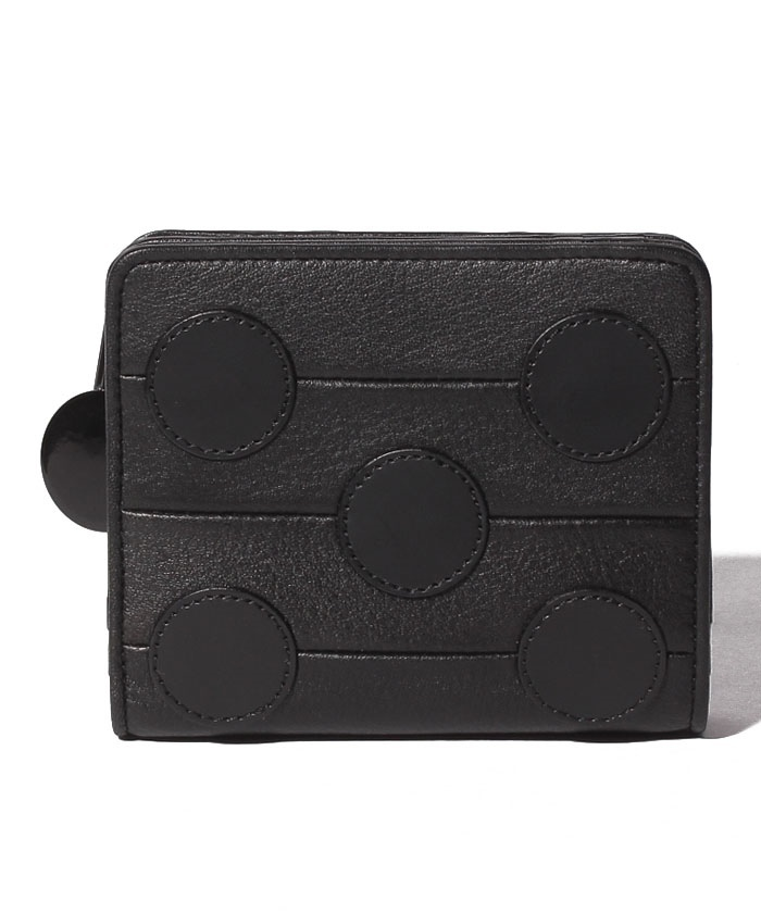 プリュイ Lファスナー二つ折り財布