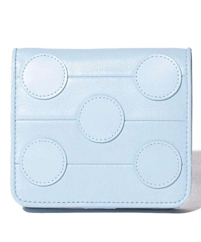 プリュイ コンパクト二つ折り財布