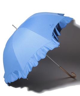 LANVIN COLLECTION 晴雨兼用傘 長傘 【シエスタ】 スカラ刺繍 フリル