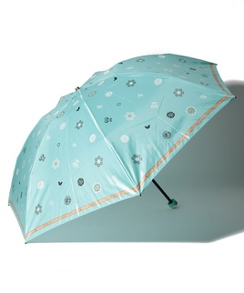 LANVIN COLLECTION(ランバン コレクション)折りたたみ傘 【フラワードット】
