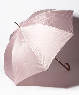LANVIN COLLECTION(ランバン コレクション)婦人長傘 先染ロゴジャガード