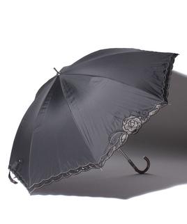 LANVIN CLLECTION(ランバンコレクション)晴雨兼用日傘 オーガンジーバラカットワーク