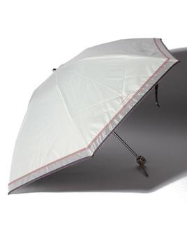 LANVIN COLLECTION(ランバンコレクション)晴雨兼用折りたたみ日傘 オーガンジーグログラン