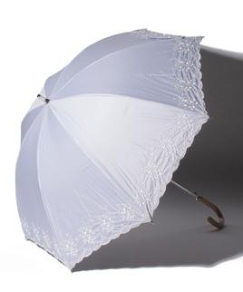 LANVIN COLLECTION(ランバンコレクション)晴雨兼用日傘 フラワー刺繍