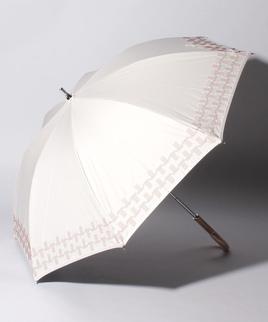 LANVIN COLLECTION(ランバンコレクション)晴雨兼用日傘 刺繍 サテンりぼん