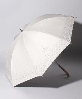 LANVIN COLLECTION(ランバンコレクション)晴雨兼用傘 刺繍