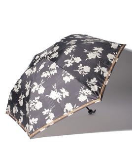 LANVIN COLLECTION(ランバンコレクション)折りたたみ傘 サテンプリント