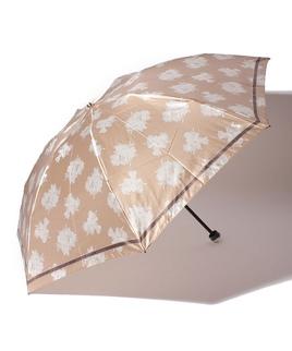 ポリエステル30デニールサテンプリントリリー ミニ傘