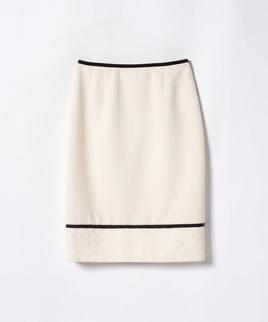 【セットアップ対応商品】バックサテンジョーゼットスカート