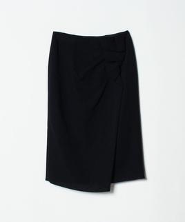 ダブルジョーゼットドレープスカート