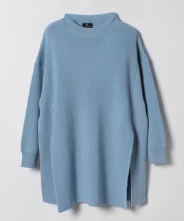 サイドスリットセーター