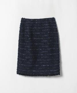 ラメツイードタイトスカート