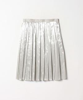 ラメタフタプリーツスカート