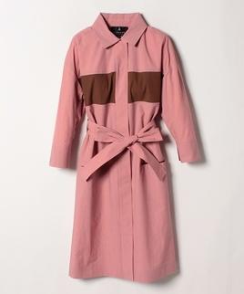 ドライポプリンコートドレス
