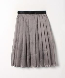 シャンブレーオーガンジースカート