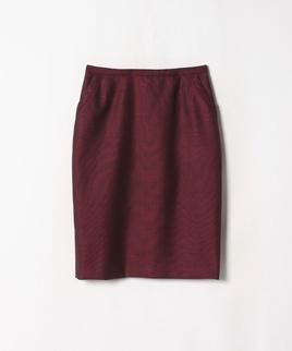 シルクウールタイトスカート