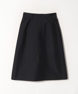 シルク混シャンタンスカート