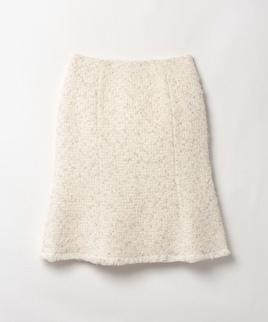 ツイードマーメイドスカート