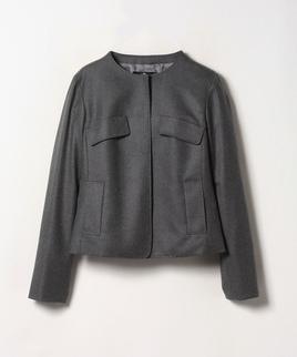 ウールサキソニージャケット