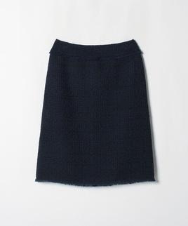 フリンジディテールタイトスカート