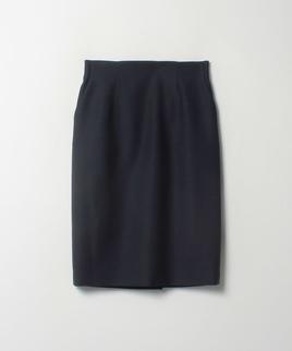 毛×絹ミディタイトスカート
