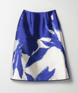 Aラインプリントスカート