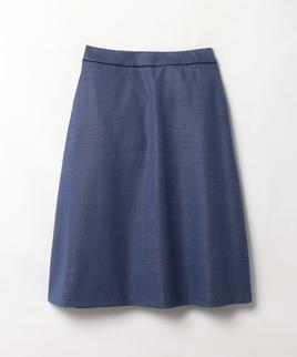 ツヤミディ丈スカート