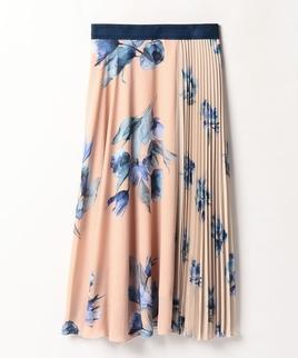 【セットアップ対応商品】パートプリーツスカート