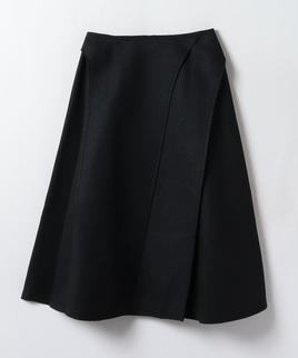ミモレ丈無地スカート