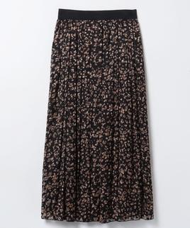 アニマルパターンロングスカート