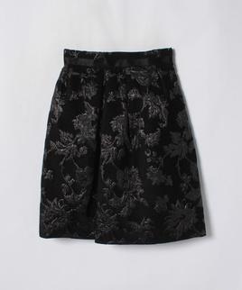 ふくれジャガードバルーンスカート