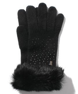 LV編手袋