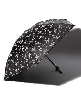 LANVIN en Blue 晴雨兼用傘 ミニ傘 スカラ刺繍