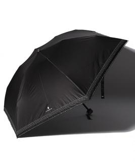 LANVIN en Blue 晴雨兼用傘 ミニ傘 シルバーラメ