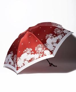 LANVIN en Blue(ランバン オン ブルー)折りたたみ傘 【シルエット マーガレット】