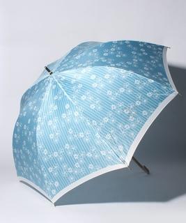 LANVIN en Blue(ランバン オン ブルー)傘 【ストライプ マーガレット】
