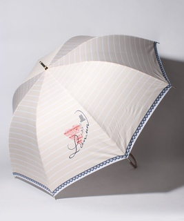 LANVIN en Blue(ランバン オン ブルー)傘 【130周年記念 ボーダー】