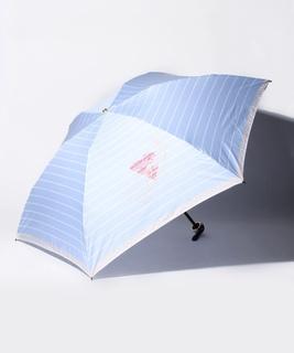 LANVIN en Blue(ランバン オン ブルー)折りたたみ傘 【130周年記念 ボーダー】