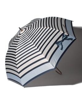 "LANVIN en Bleu 傘 ""ボーダーリボン"""