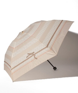 LANVIN en Blue(ランバンオンブルー)折りたたみ傘 【りぼん】